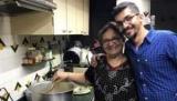 Людина, який найняв його мати, як шеф-кухар