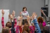 Известные докладчики говорили о школе и встреча одноклассников