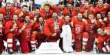 Российские хоккеисты пели гимн на церемонии вручения олимпийских медалей