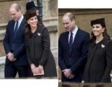 Элегантный Кейт Миддлтон накануне родов посетила службу Пасхи